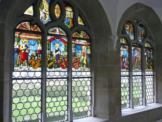 Kloster Muri Kreuzgang