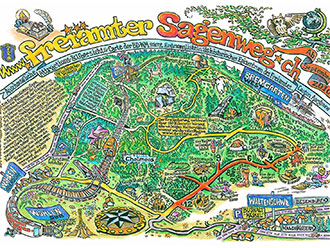 Anschouwliche Attractions Carte