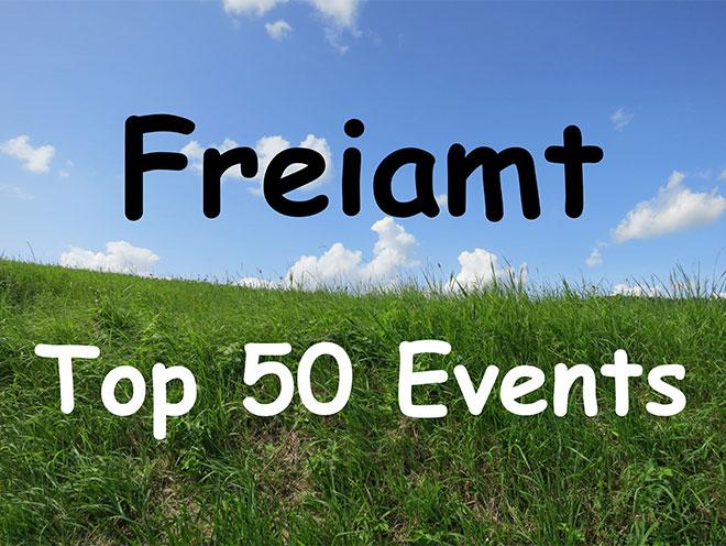 Freiamt Top 50 Events
