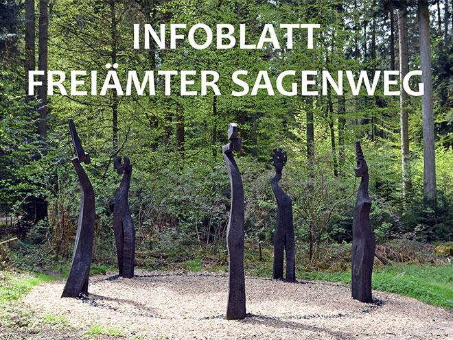 Infoblatt Freiämter Sagenweg
