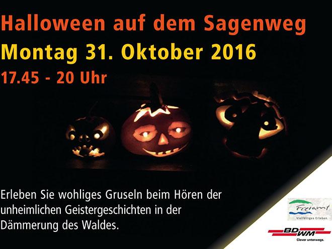 Halloween 2016 Auf Dem Sagenweg