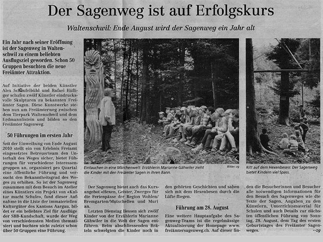 Presseartikel Sagenweg